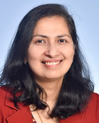 A photo of Sobha Kurian.