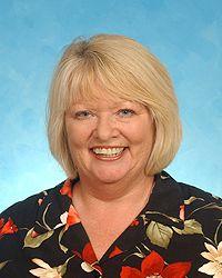 A photo of Vicki Lewis.