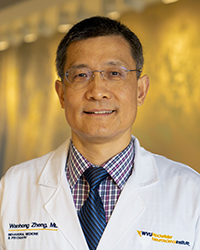 A headshot photo of Wanhong Zheng.