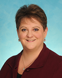 A photo of Lya Stroupe, DNP, APRN, CPNP, NEA-BC.