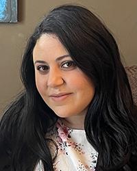 A photo of Nadia Barghouthi.