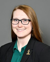 A photo of Kayla Steinberger.
