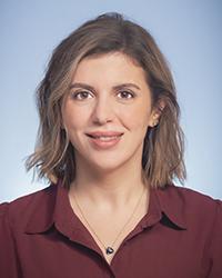 A photo of Sarah Almasri.