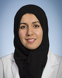A photo of Nadia Falah.