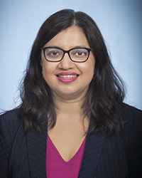 A photo of Nita Ray Chaudhuri.
