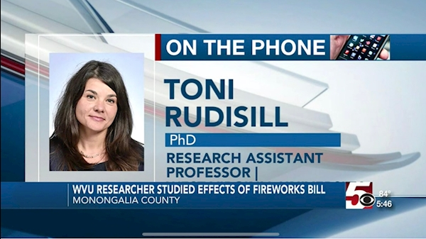 WVU in the News: WVU Researcher finds firework-related injuries spiked 40% after 2016 fireworks law