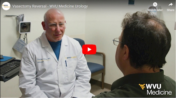 WVU Medicine Health Report: Vasectomy Reversal