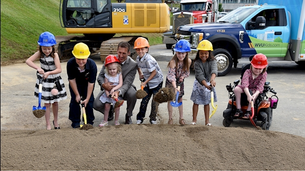WVU Medicine breaks ground for WVU Medicine Children's tower