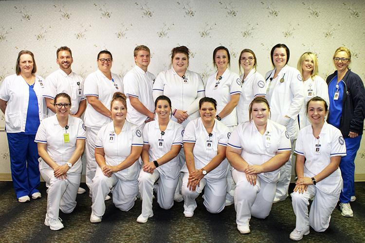 B.M. Spurr School of Practical Nursing scholarship winners