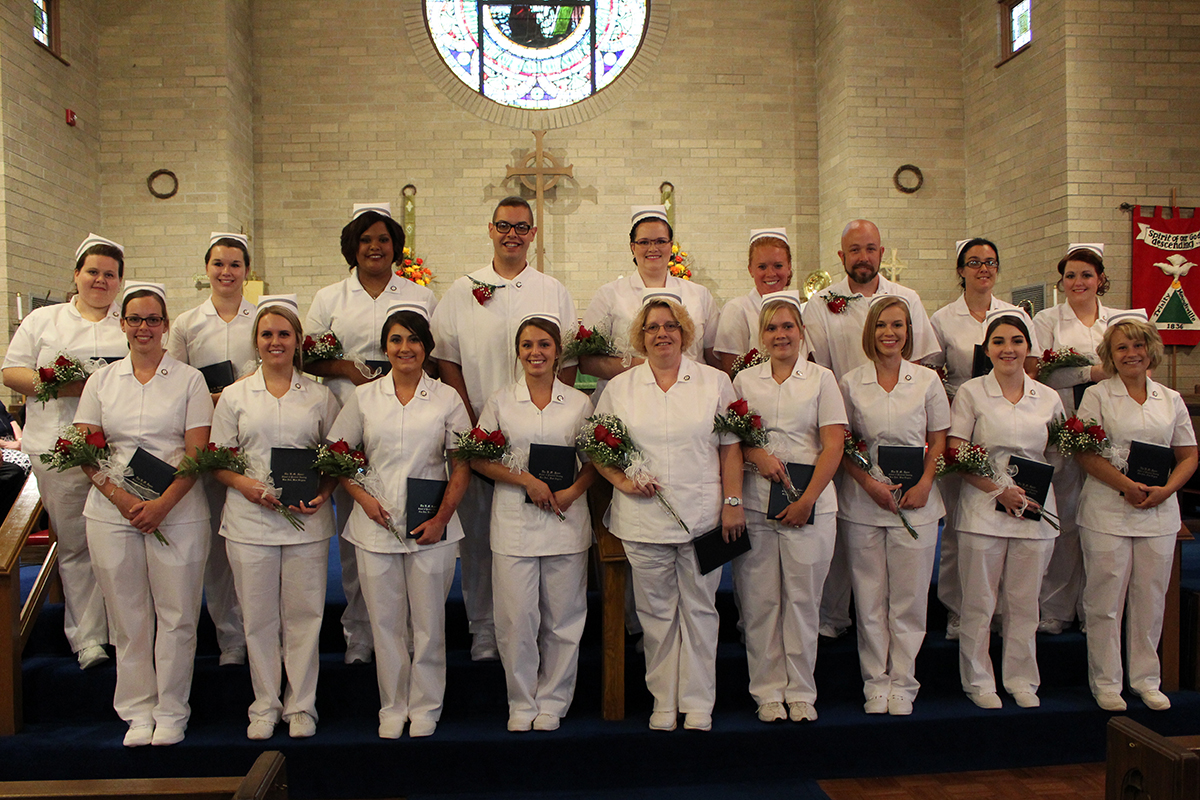 The B.M. Spurr School of Practical Nursing Class of 2018