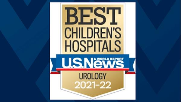 WVU Medicine Children's named top children's hospital in West Virginia, Pediatric Urology nationally ranked by U.S. News & World Report