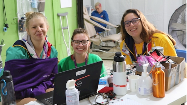 Nursing hosts 'Scouting World Jamboree Student Clinical Experiences' event
