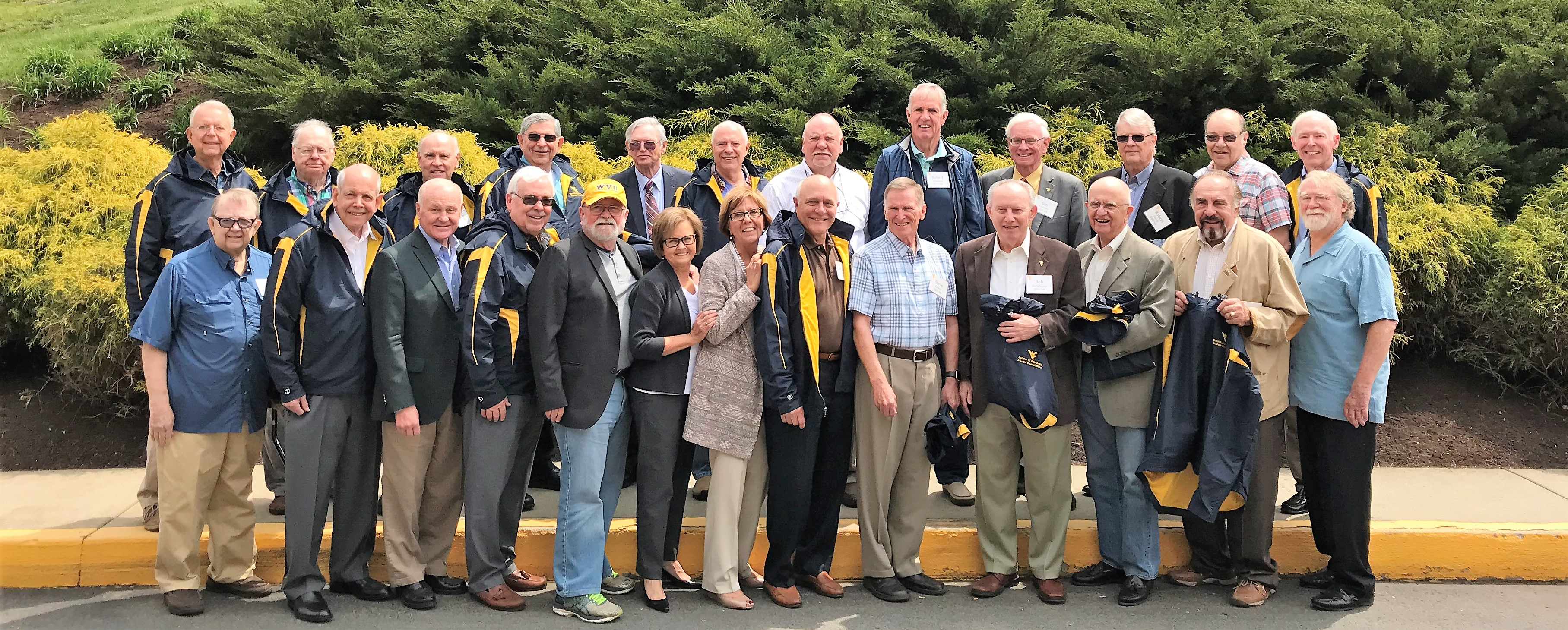 The DDS Class of 2018 gather for their 50th reunion.
