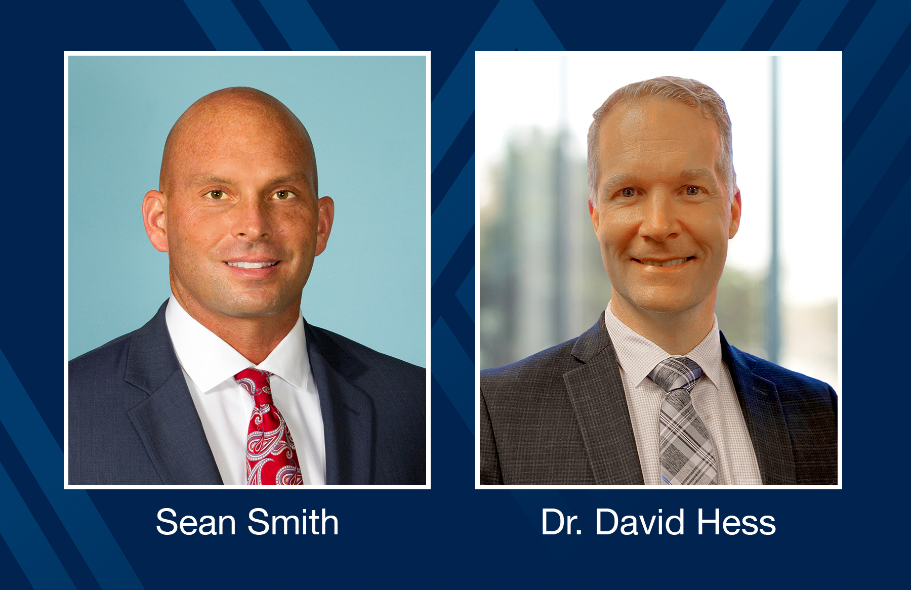 Sean Smith and David Hess, M.D.
