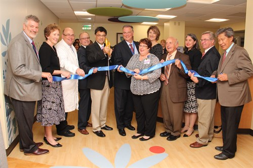 NICU Ribbon Cutting Ceremony