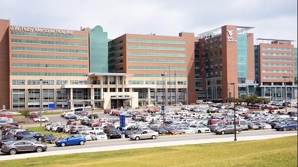 Hospital parking will be restricted for WVU home football game on Saturday