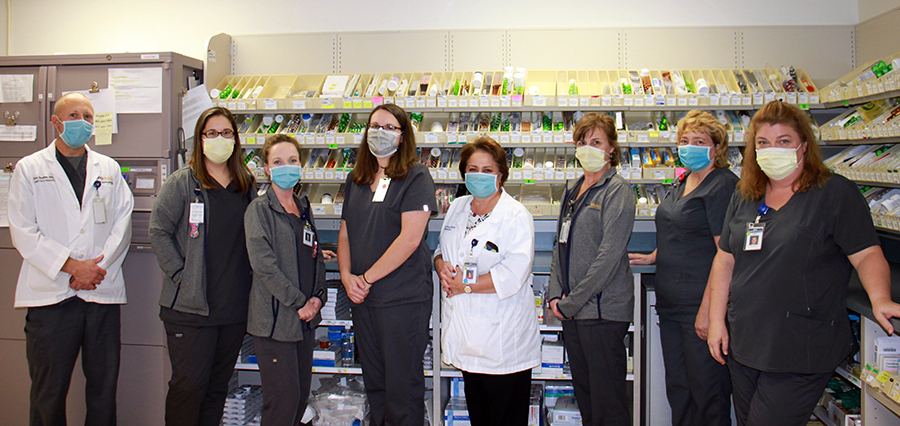 St. Joseph's Hospital pharmacy staff