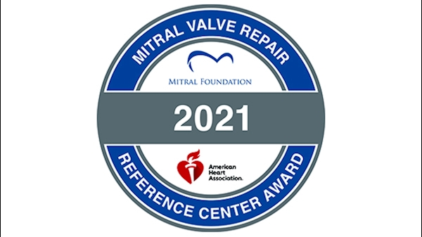 WVU Heart and Vascular Institute receives recognition as a Mitral Valve Repair Reference Center from the American Heart Association