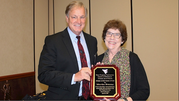Dedication to students and faculty earns Martha Sturms an alumni award