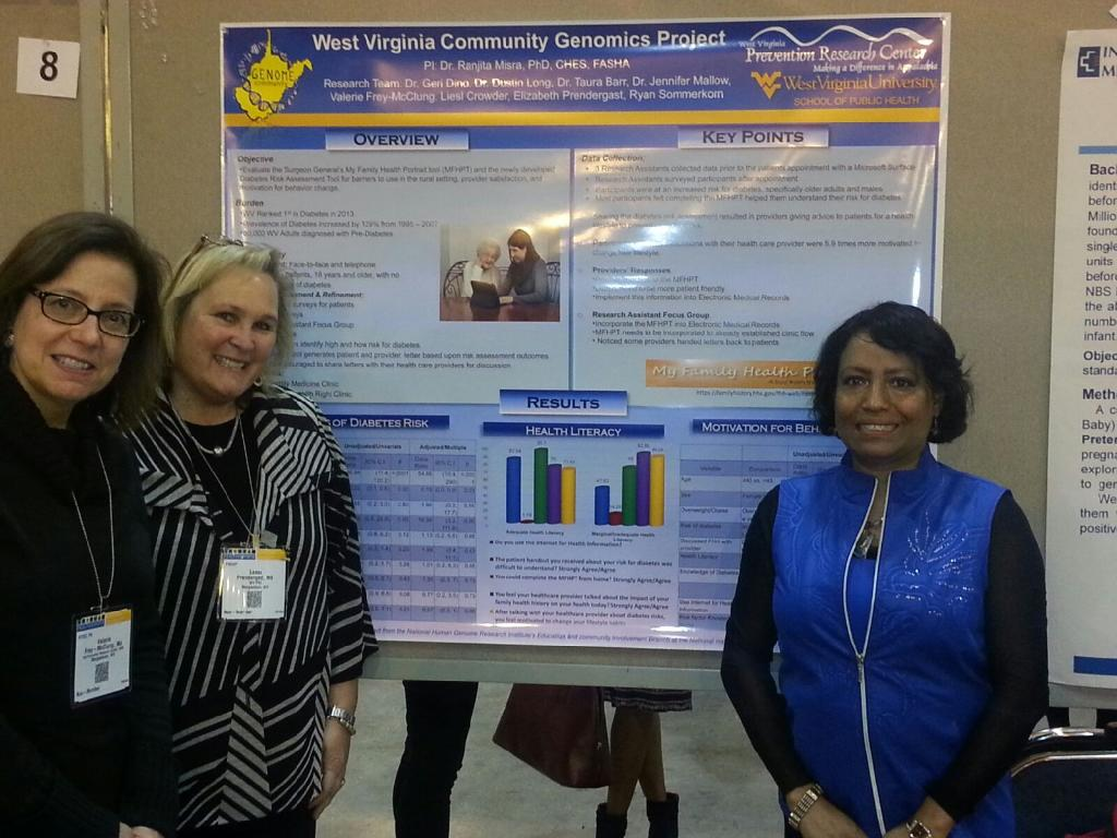 Community Genomics Poster at APHA