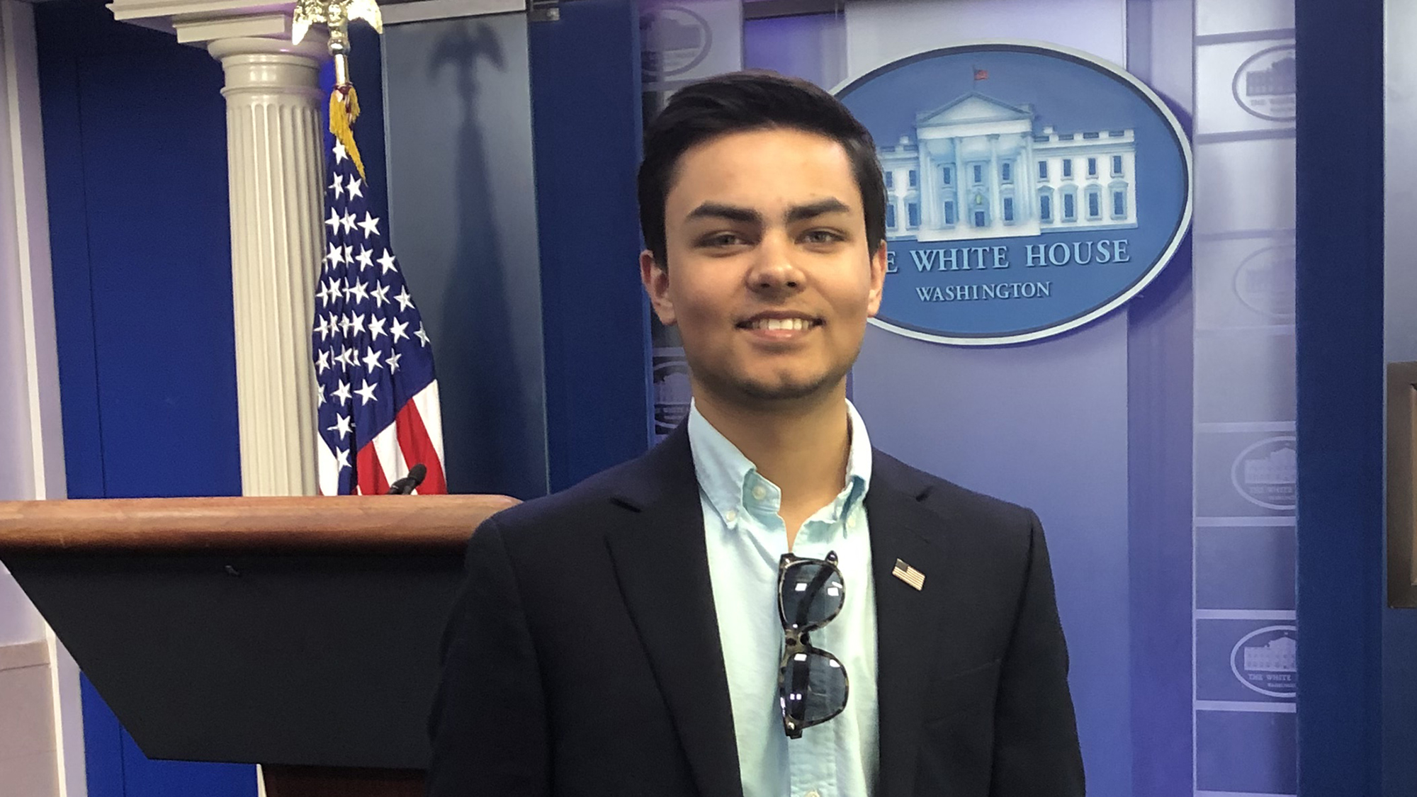 Jeevan Murthy in the White House.