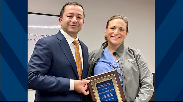 WVU Heart and Vascular Institute VAD coordinator recognized by Society of Thoracic Surgeons