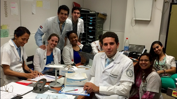 Global health rotations provide health sciences students with international experience