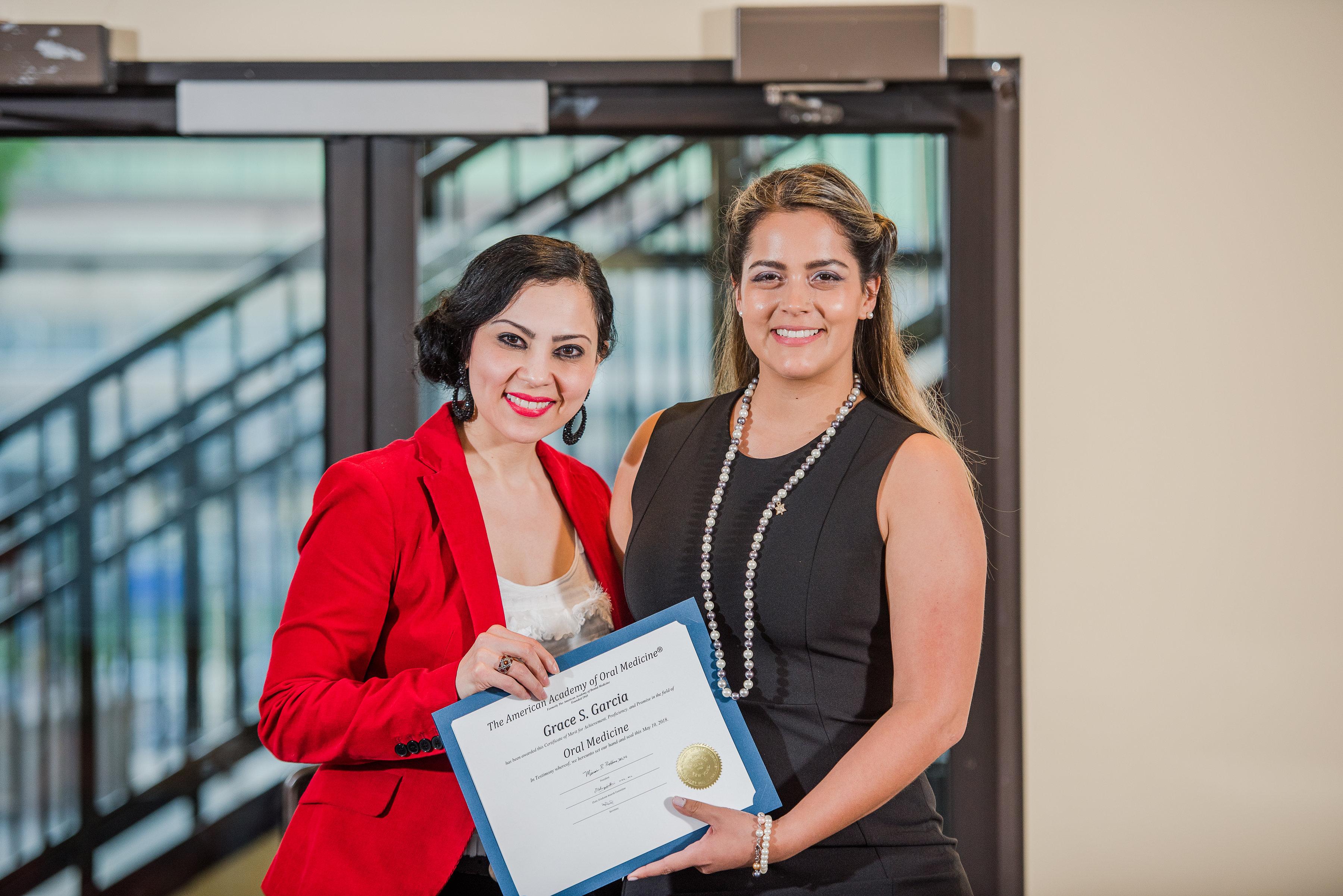 Grace Garcia, American Academy of Oral Medicine