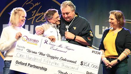 Cincinnati-area fundraising event boosts cancer research via Huggins memorial fund
