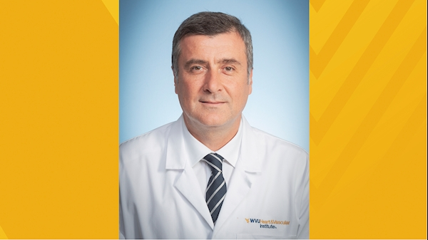 Internationally renowned robotic thoracic surgeon joins the WVU Heart and Vascular Institute