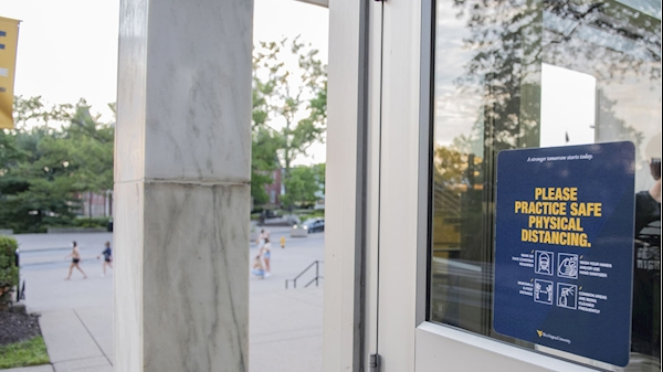 WVU reinforces seriousness of following COVID-19 health and safety guidelines