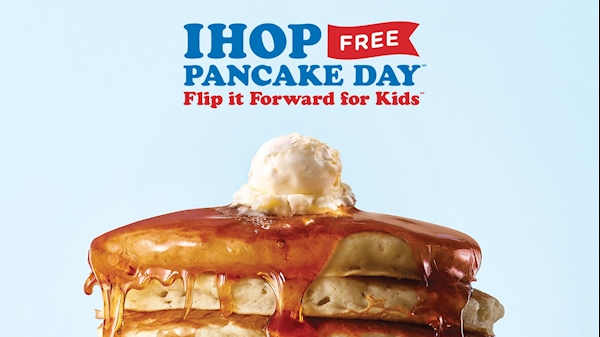 IHOP Free Pancake Day benefitting WVU Medicine Children's to be held March 12