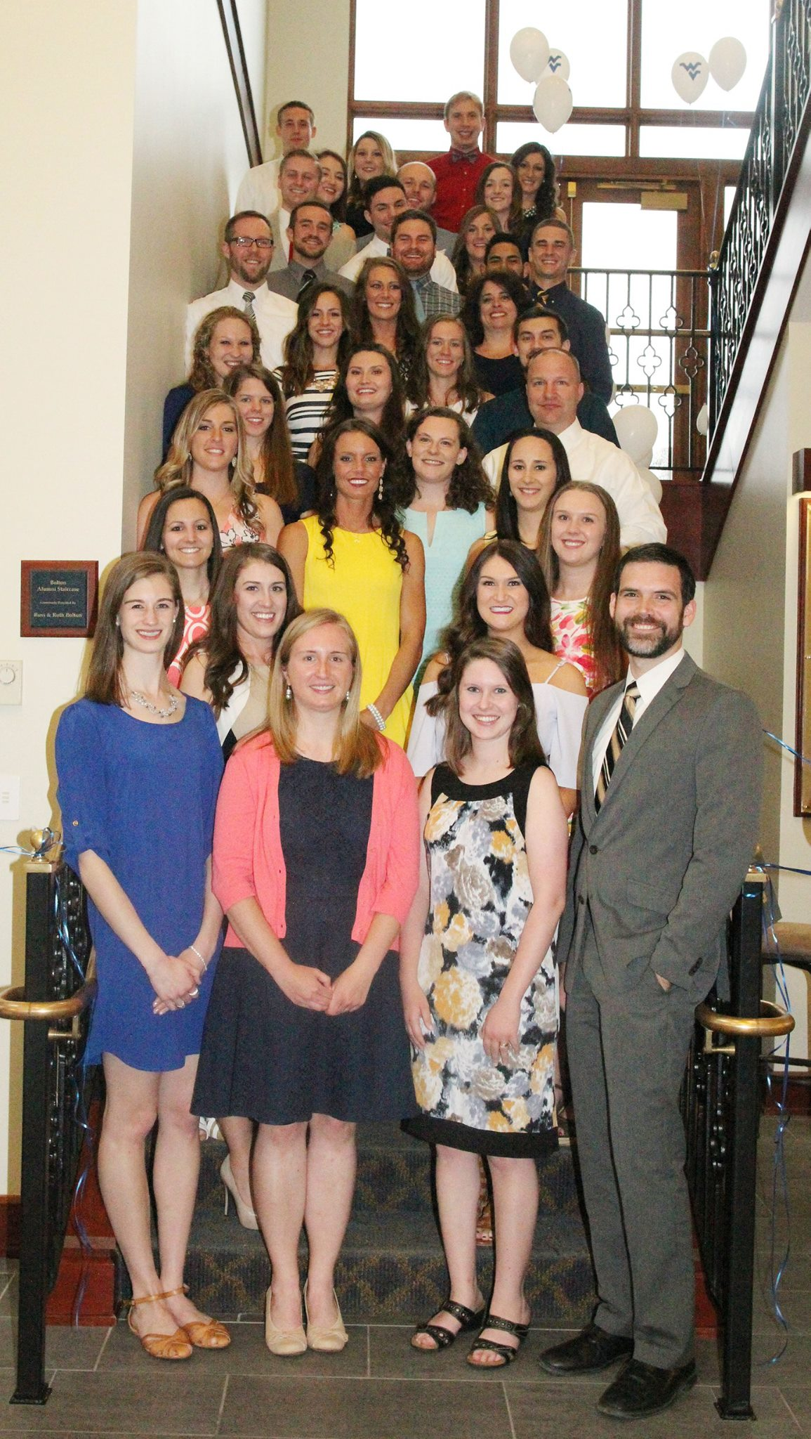 Board of physical therapy - All 38 Members Of The West Virginia University Doctor Of Physical Therapy Class Of 2016 Passed The National Physical Therapy Examination On The First