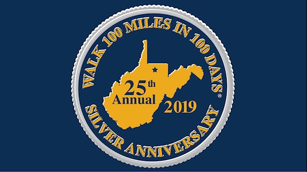 Register by Friday, April 12 for the 25th Annual Walk 100 Miles in 100 Days®