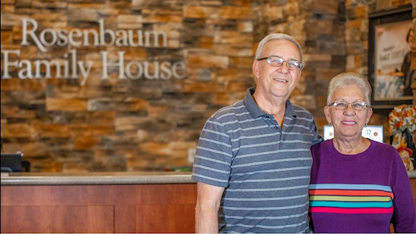 Beckley-area couple finds home away from home at Rosenbaum Family House