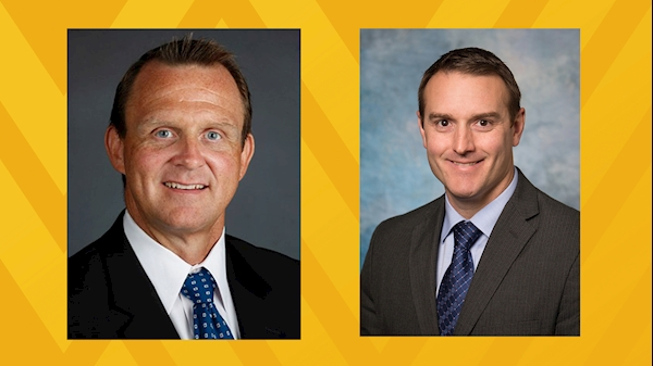 WVU Medicine Center for Joint Replacement eliminates knee pain for WVU AD Shane Lyons