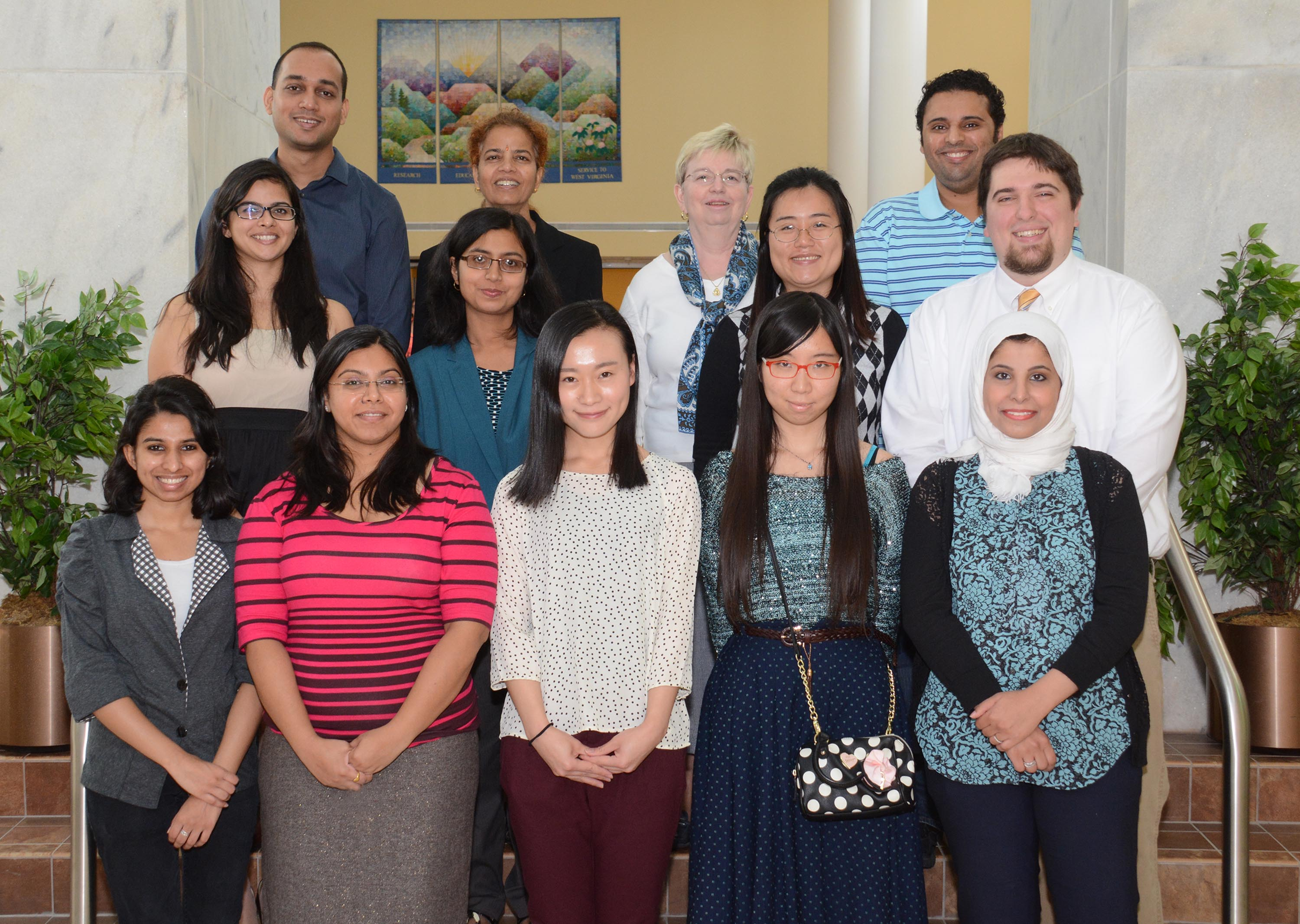 WVU student chapter of ISPOR and faculty members