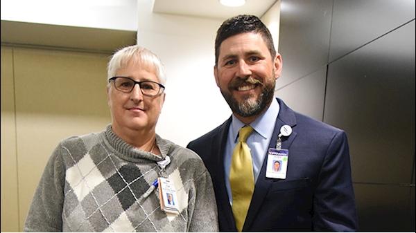 Frantz named Nurse of the Year at WVU Medicine-WVU Hospitals