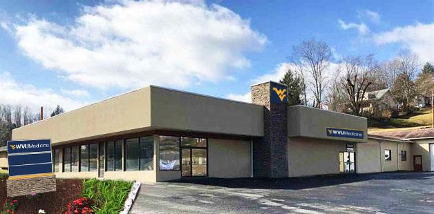 Site of new West Fairmont Clinic