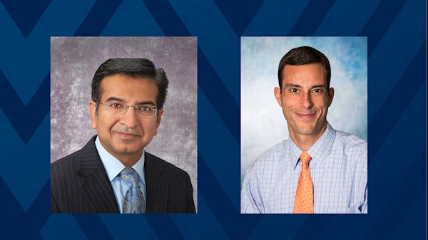 Ghulam Abbas, M.D., and Justin Kupec, M.D.