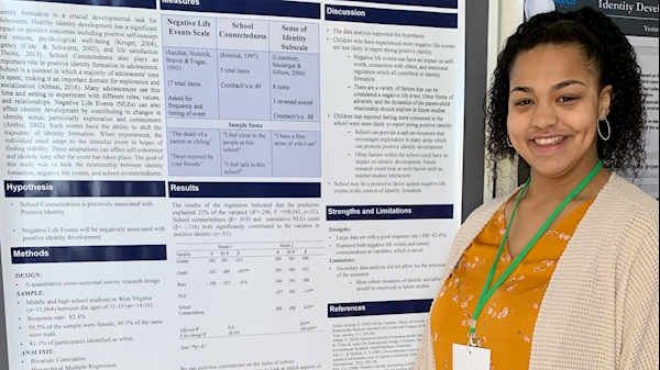 Undergraduate student shares public health research on international stage