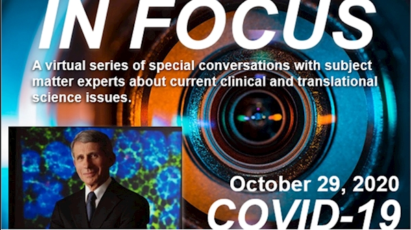 Dr. Anthony Fauci to headline virtual event discussing COVID-19