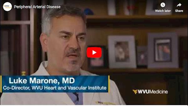 WVU Medicine Health Report: Peripheral Arterial Disease