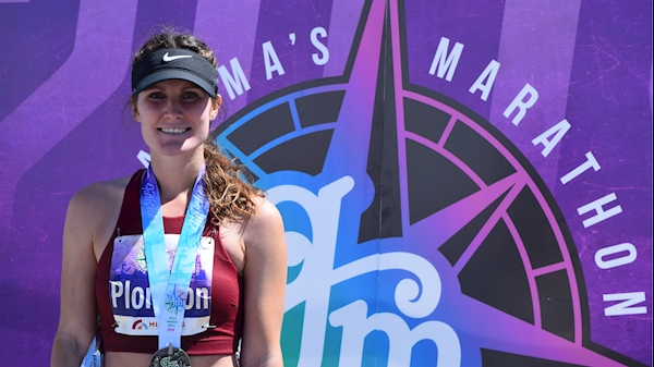 Public Health alumna earns spot as Olympic trials qualifier