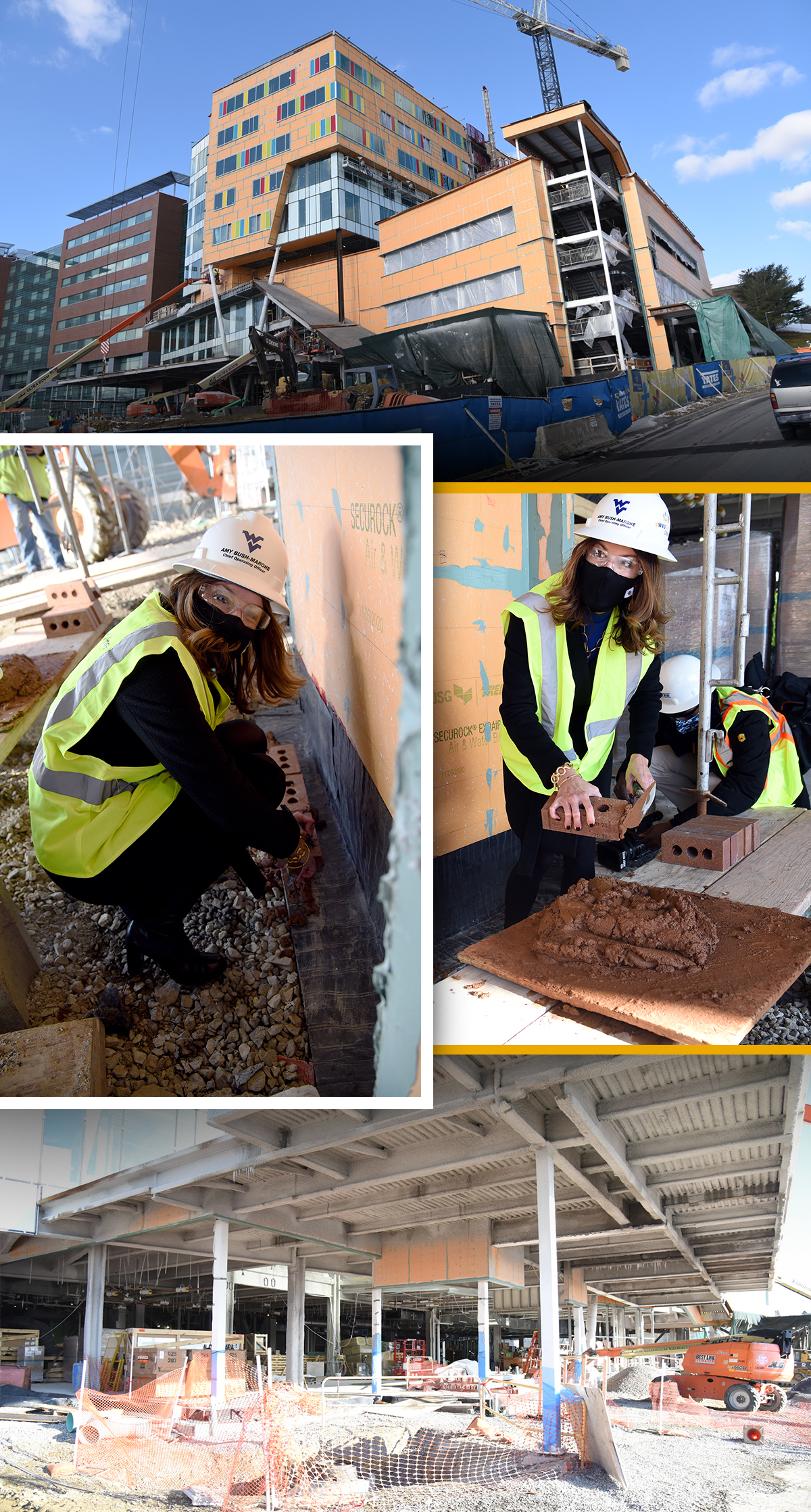 Bricks being put into place for new Children's Hospital