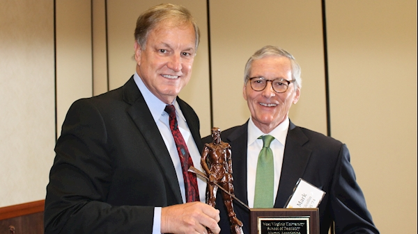 Dentist from Union, W.Va. honored as outstanding alumnus