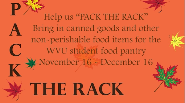 Pack The Rack: Health Sciences Center collecting food for students in need