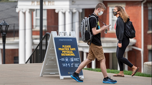 WVU, CDC report 'weeks 0-2' preliminary results for mask observation study
