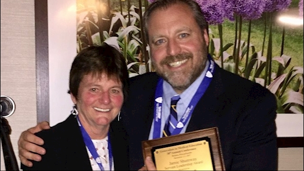 School of Medicine's Scott Cottrell receives national award