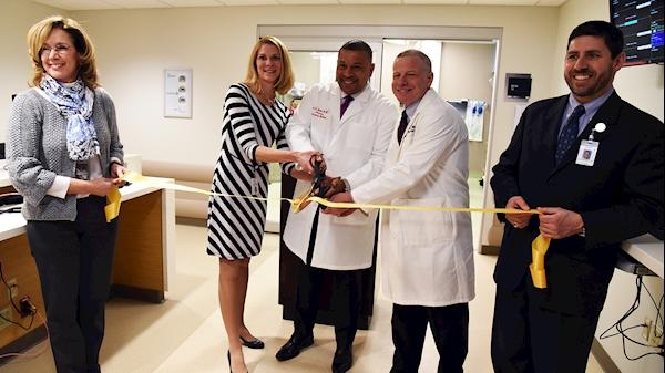 WVU Medicine Center for Emergency Medicine at J.W. Ruby Memorial Hospital expands